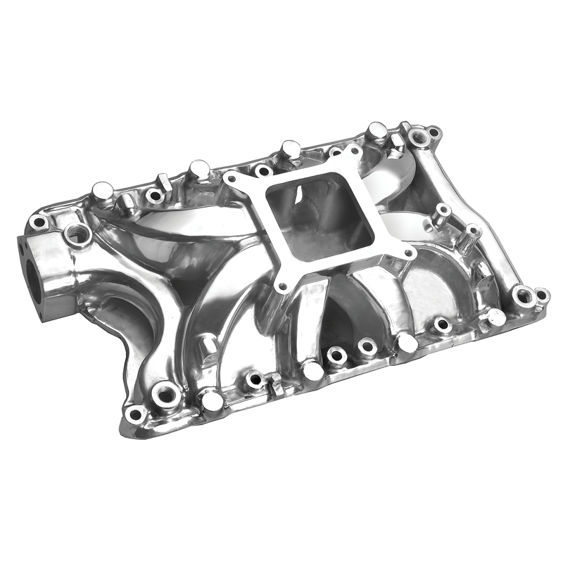 Small Block Ford 351W Hurricane Intake Manifold Polished