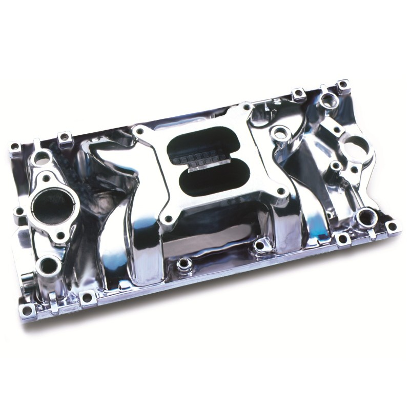 Small Block Chevy Aluminum Cylinder Heads And Intake Manifold