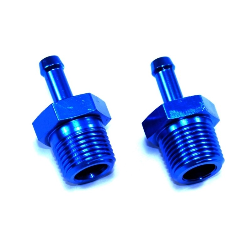 "3/8NPT to 1/4"" Hose Nipple (Pair)"