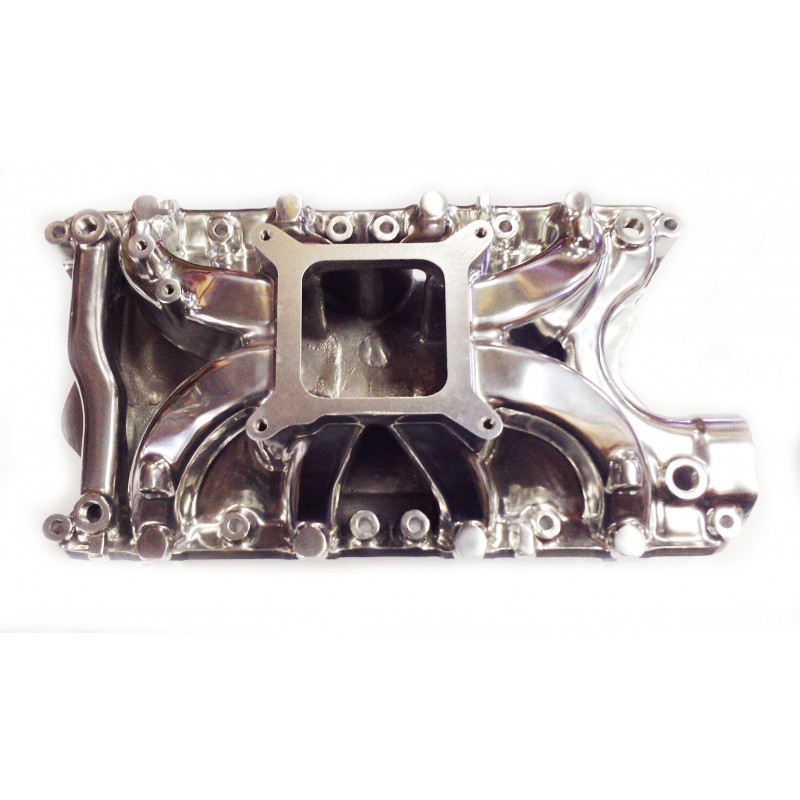 Ford Small Block 351W Hurricane Intake Manifold Polished