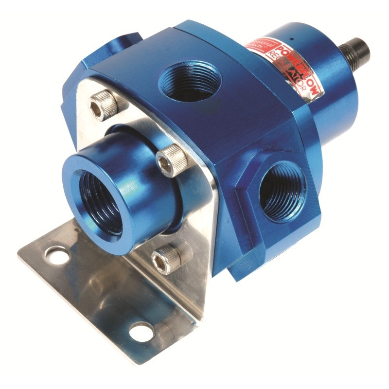 5-Port Fuel Pressure Regulator (Carbs w/return) Blue