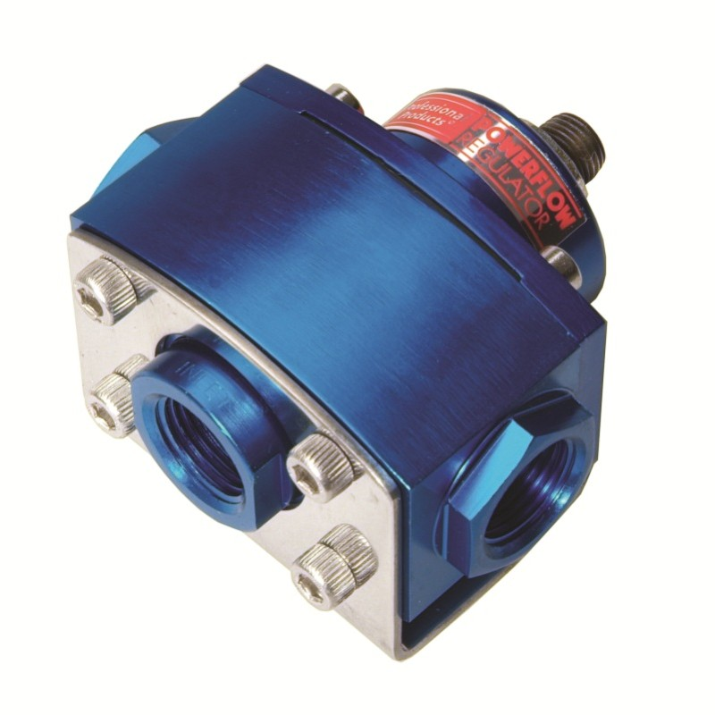 2-Port Fuel Pressure Regulator (Carbs) Blue
