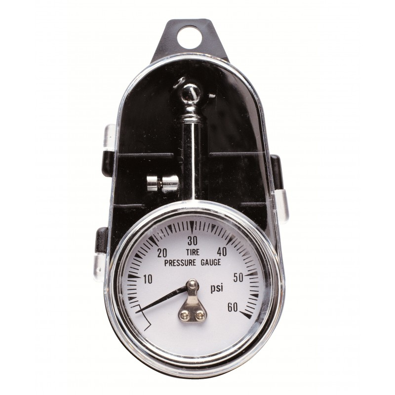 0-60 Tire Gauge w/45 Deg. End
