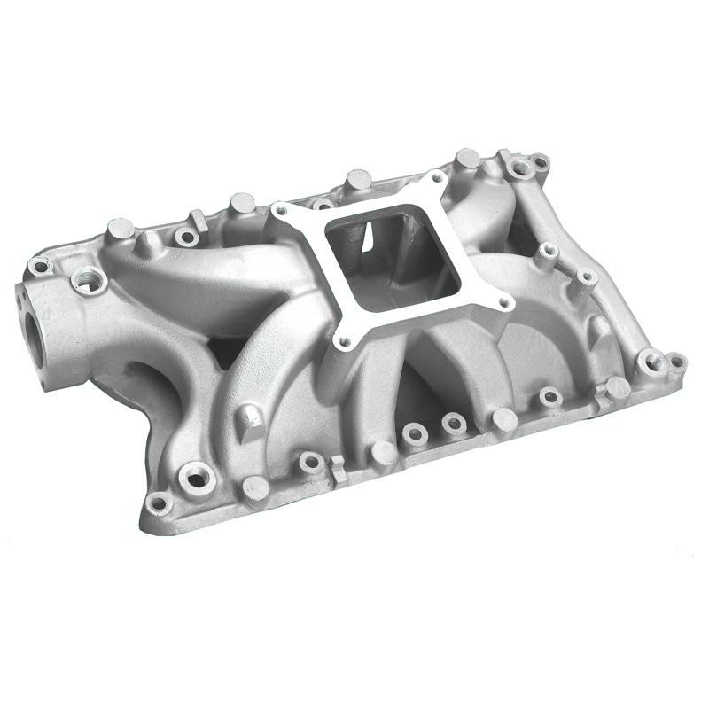 Small Block Ford 351W Hurricane Intake Manifold Satin