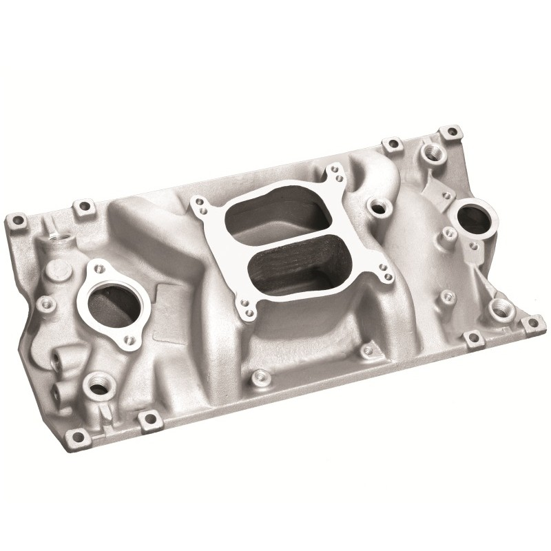 Chevy Small Block Vortec V8 Cyclone Intake Manifold -Satin