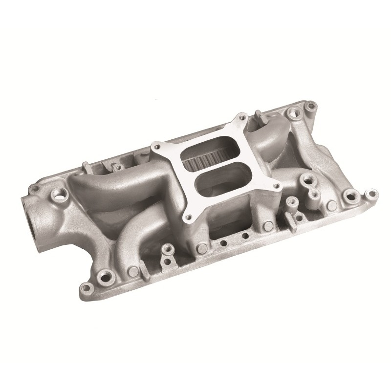 Small Block Ford Crosswind Intake Manifold Satin