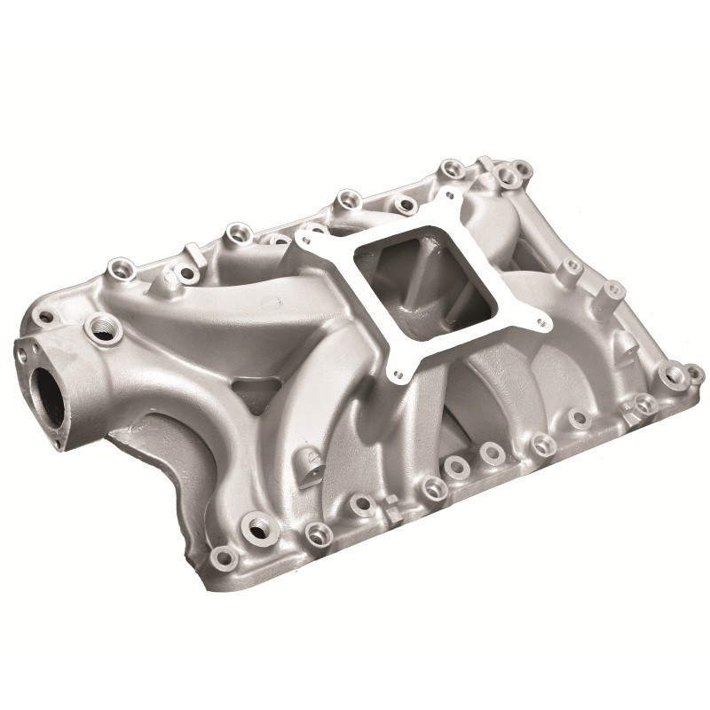 Small Block Ford 351W Hurricane Intake Manifold W/EFI Satin